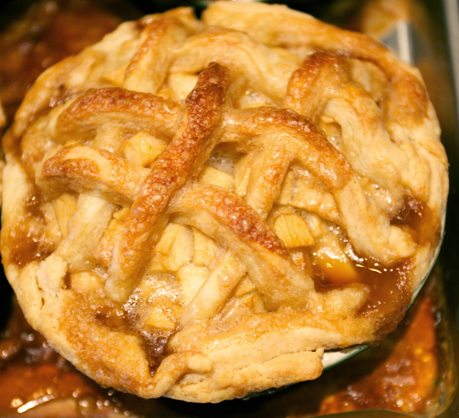 A Perfect Apple Pie for the First Day of October
