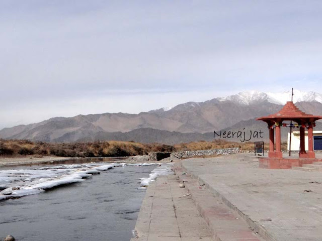 लद्दाख यात्रा- सिन्धु दर्शन व चिलिंग को प्रस्थान