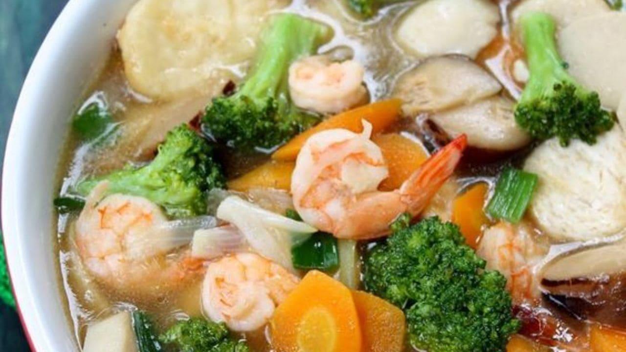 Resep Masakan Sapo Tahu Tiga Jamur, Cocok untuk Ibu Muda Baru Belajar Masak