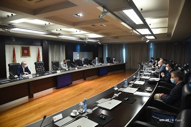 NKT će danas predstaviti nove epidemiološke mjere za cijelu Crnu Goru