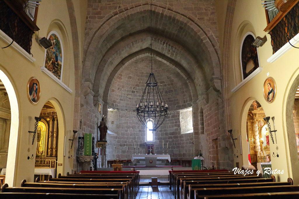 Interior de la Iglesia del Salvador de Béjar