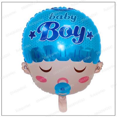 bong hinh mat baby boy mau xanh