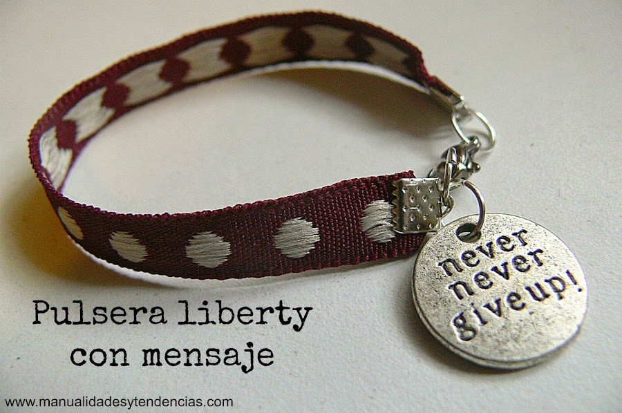 pulsera liberty para regalo