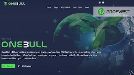 🥇One-Bull.com: обзор и отзывы [Кэшбэк 3% + Страховка 500$]