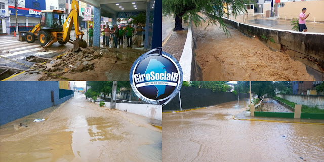 Numa semana de chuvas  fortes que caíram em  Arcoverde, moradores afetados já  contabilizan  varios prejuízos