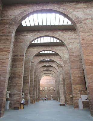 Museo Nacional de Arte Romano; Rafael Moneo; Mérida; Badajoz; Extremadura; Vía de la Plata