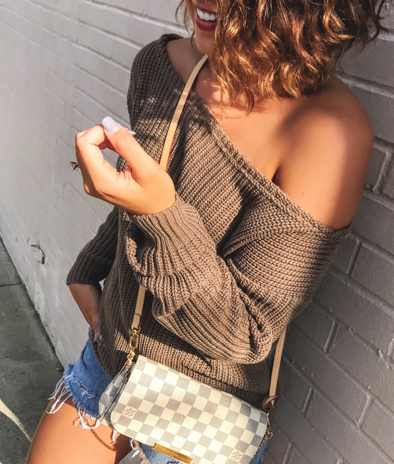 off the shoulder missguided sweater