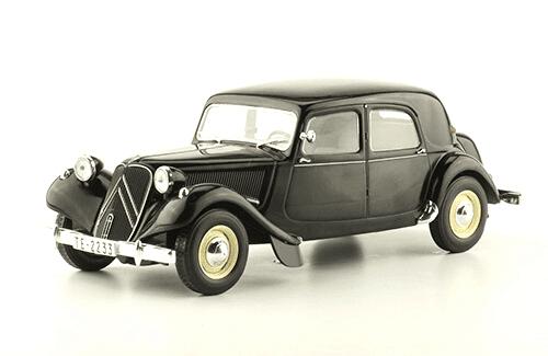 Citroën Traction 11B 1952 coches inolvidables salvat