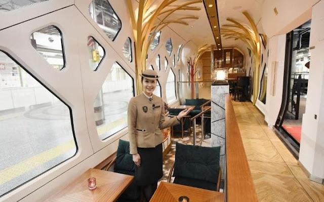Γνωρίστε το πιο πολυτελές τρένο στον κόσμο με εισιτήριο… 8.000 ευρώ! (ΦΩΤΟ