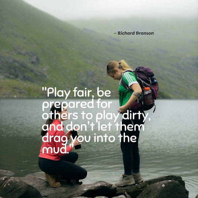 Quotes on fair play