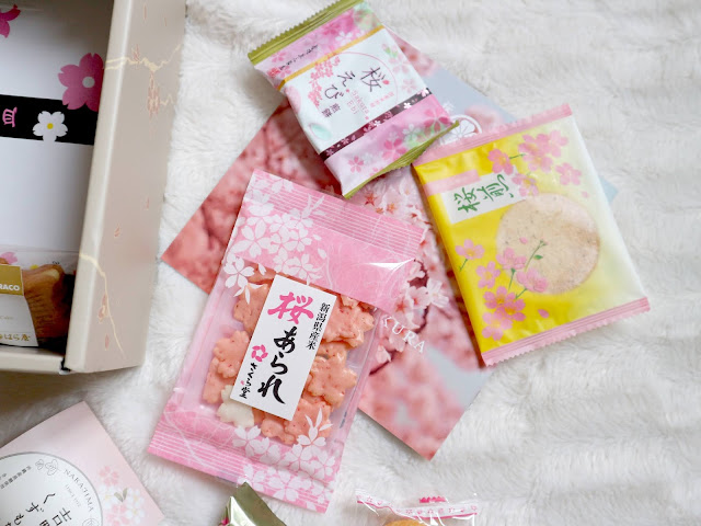 Les produits salés de la sakuraco box de mars.
