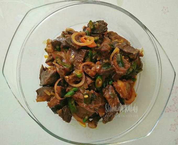 Resepi Daging Kam Heong