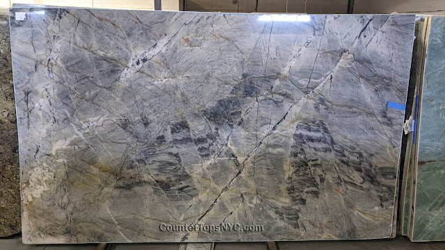 Tempest Blue Quartzite Slabs NYC