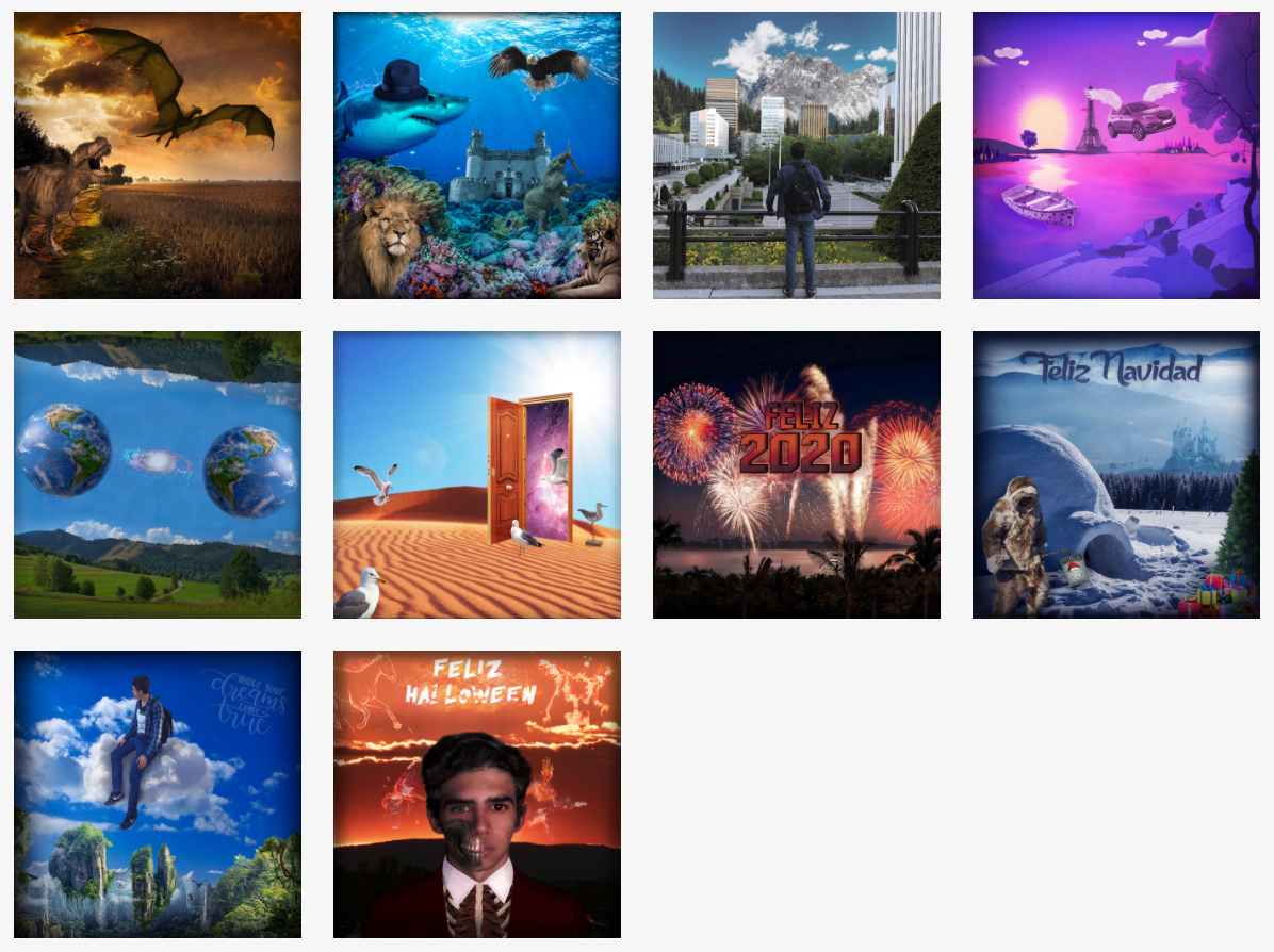 Recopilación de imágenes creadas por Madirex