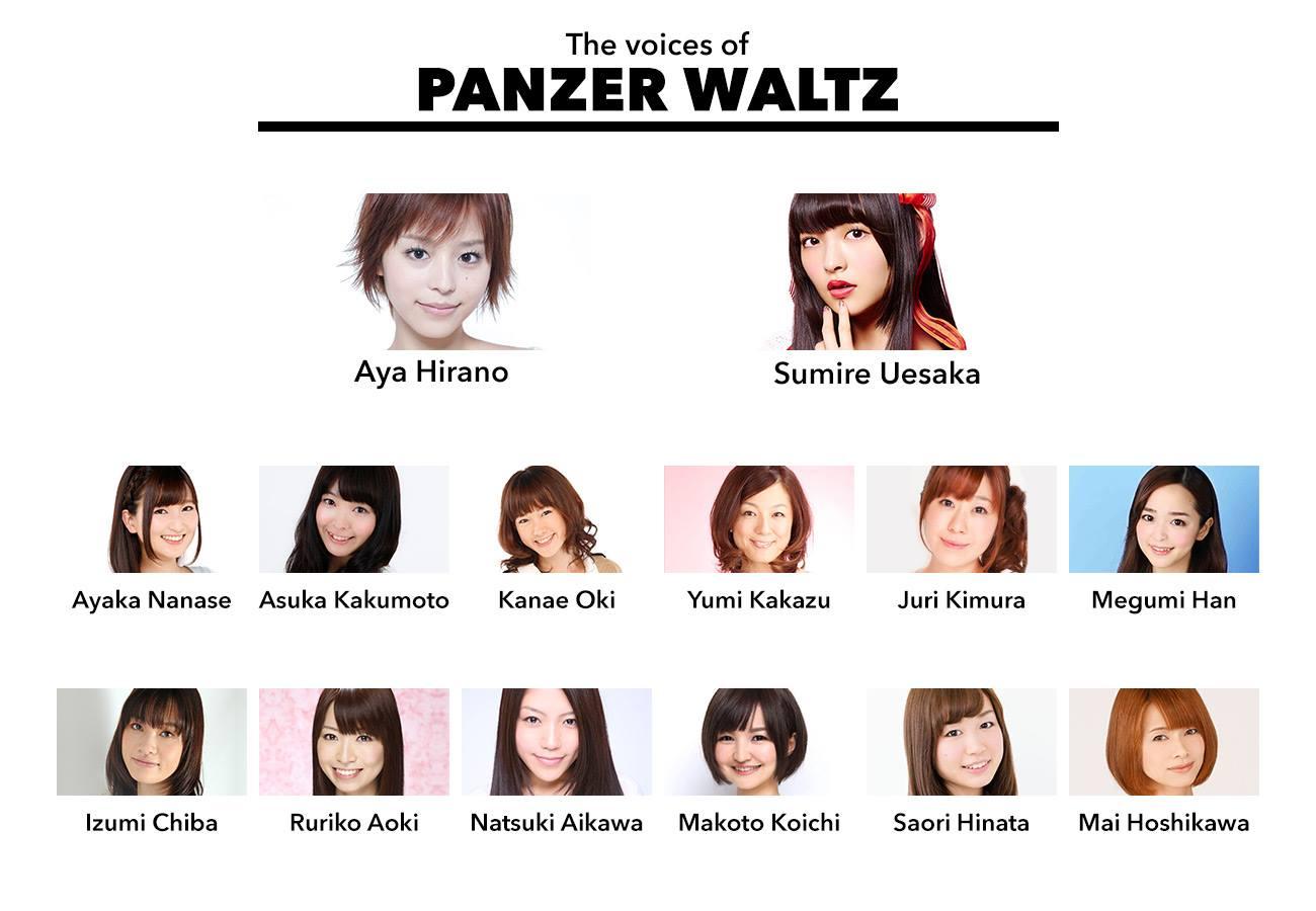 panzer waltz seiyuu