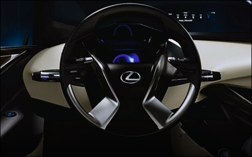 2017 Lexus LF-SA Concept Release Date