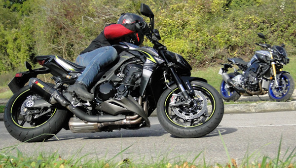 Duel Monstrous! Yamaha MT-10 SP Vs Kawasaki Z1000R