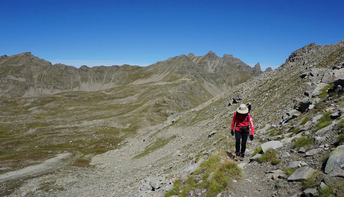 Trail to Baisse de la Boulière