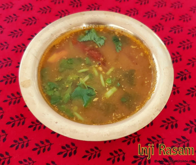 images of Inji Rasam / Ginger Rasam - Rasam Recipes