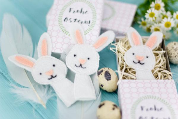 Osterhase nähen: Geschenkidee zu Ostern