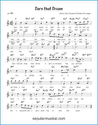 Darn That Dream chords jazz standar