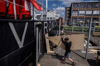 Iconische boot van piratenzender Veronica wordt nachtclub