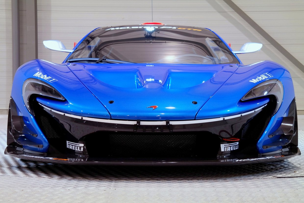 Beautiful Bright Blue Road Legal Mclaren P1 Gtr For Sale