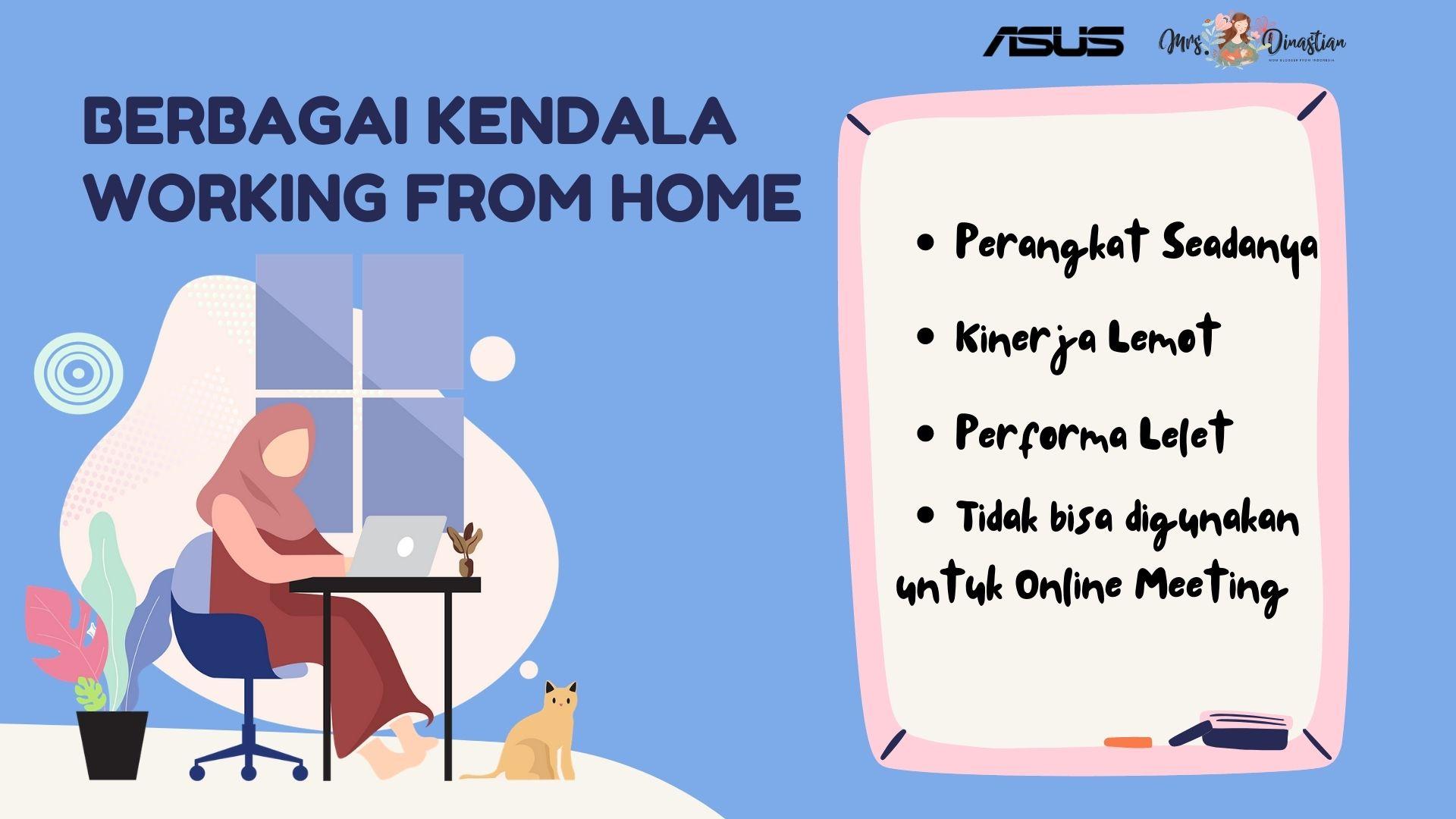Berbagai Kendala Working From Home