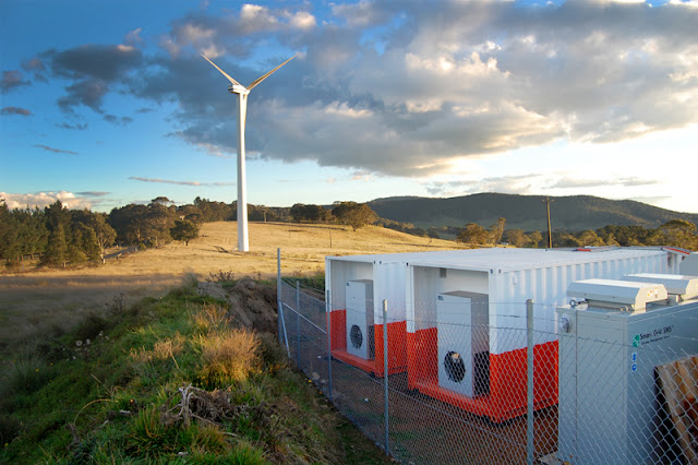 Stationary Battery Storage Market