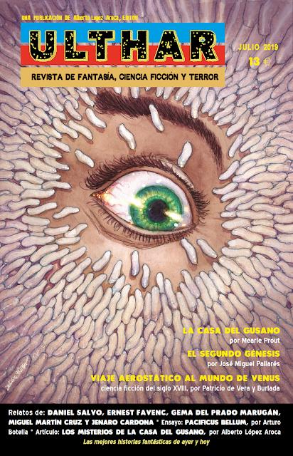 ¡NUEVO! Revista Ulthar nº09. 13 euros