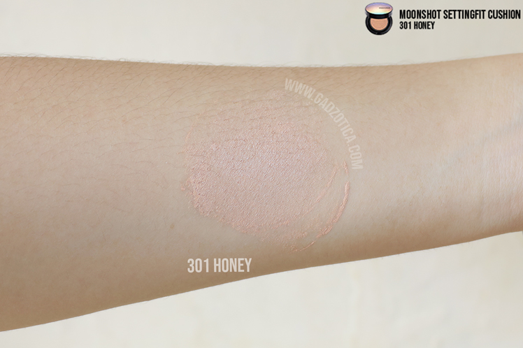 Moonshot Micro Setting Fit Cushion 301 Honey Review
