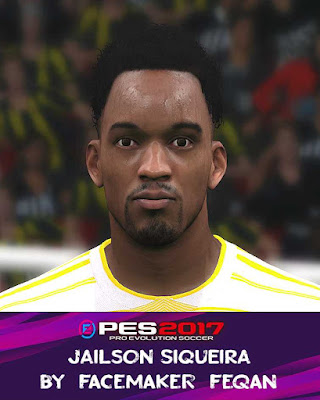 PES 2017 Jailson Siqueira Face by Feqan