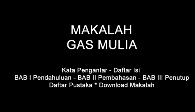 DOWNLOAD MAKALAH INDUSTRI GAS