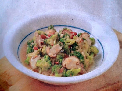Gambar Resep Tumis Jamur Brokoli