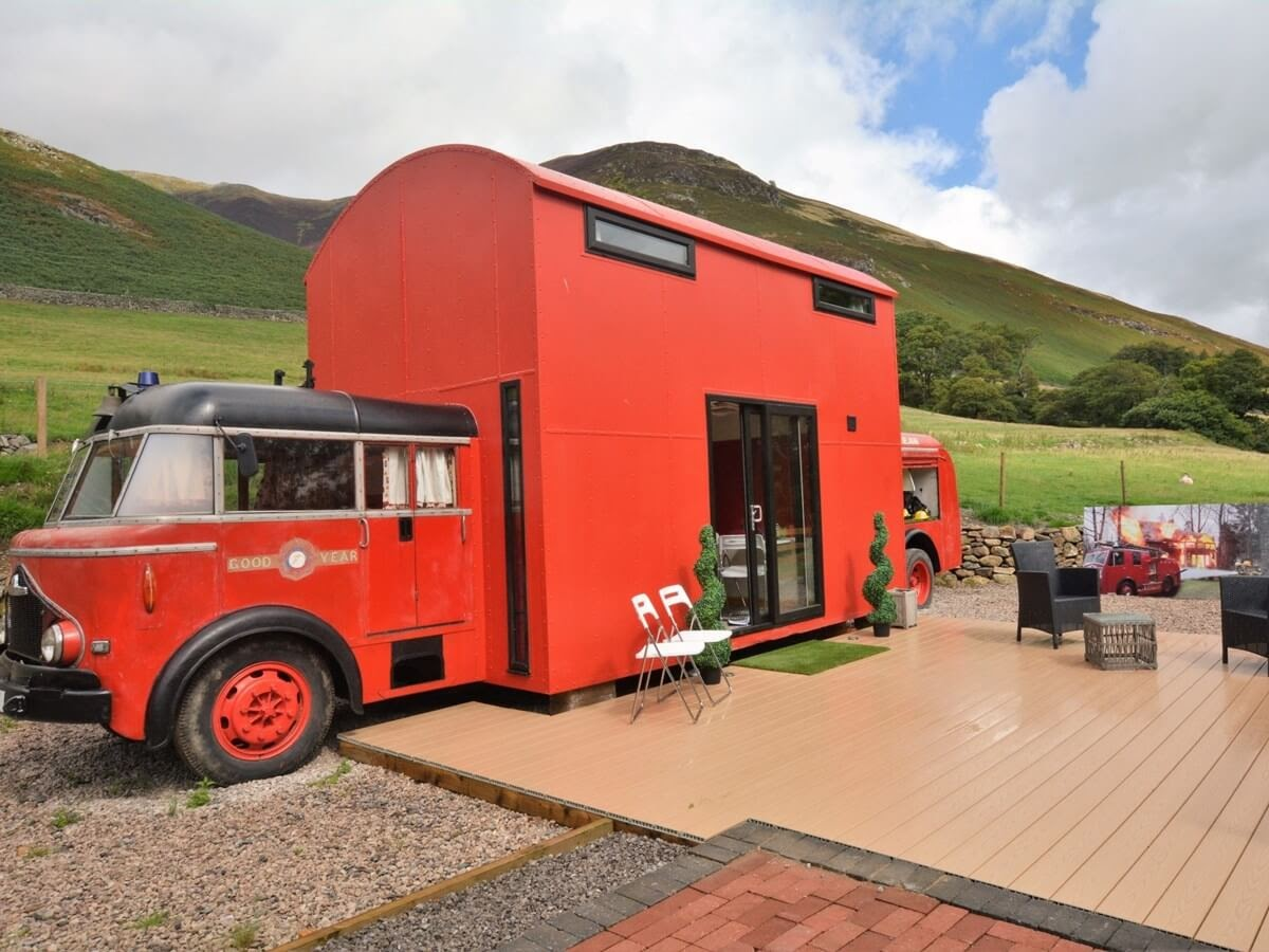 01-Truck-and-Patio-Farm-Holidays-Tiny-Architecture-Restored-Fire-Truck-www-designstack-co