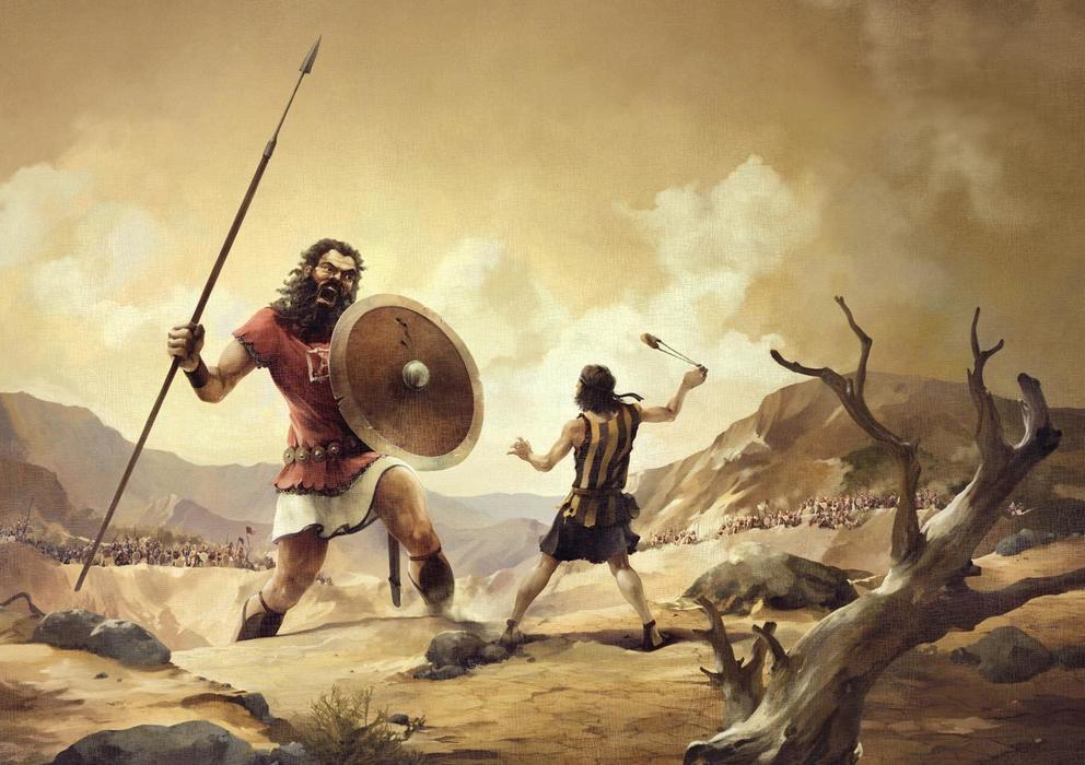A Vitória de Davi Contra Golias