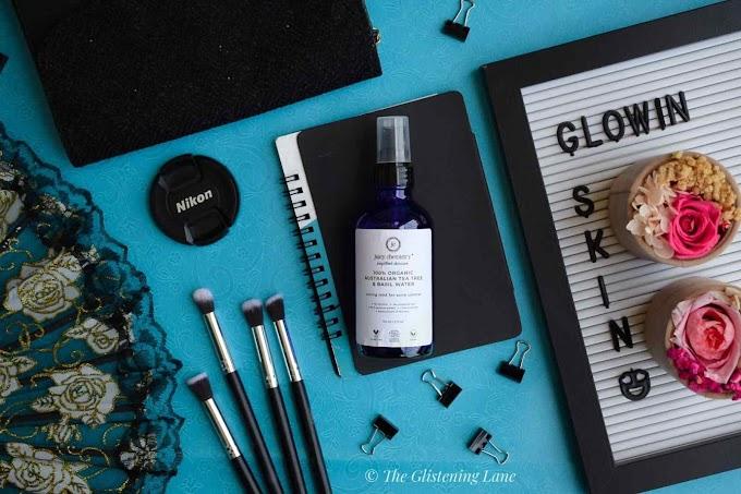 Juicy Chemistry Australian Tea Tree & Basil Water - Product Review