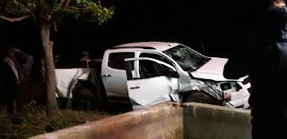 Acidente de trânsito por pouco não termina em tragédia em Nova Palmeira