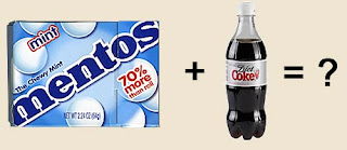 Got Essential Thrombocytosis?: Mentos and Diet Coke: What really ...