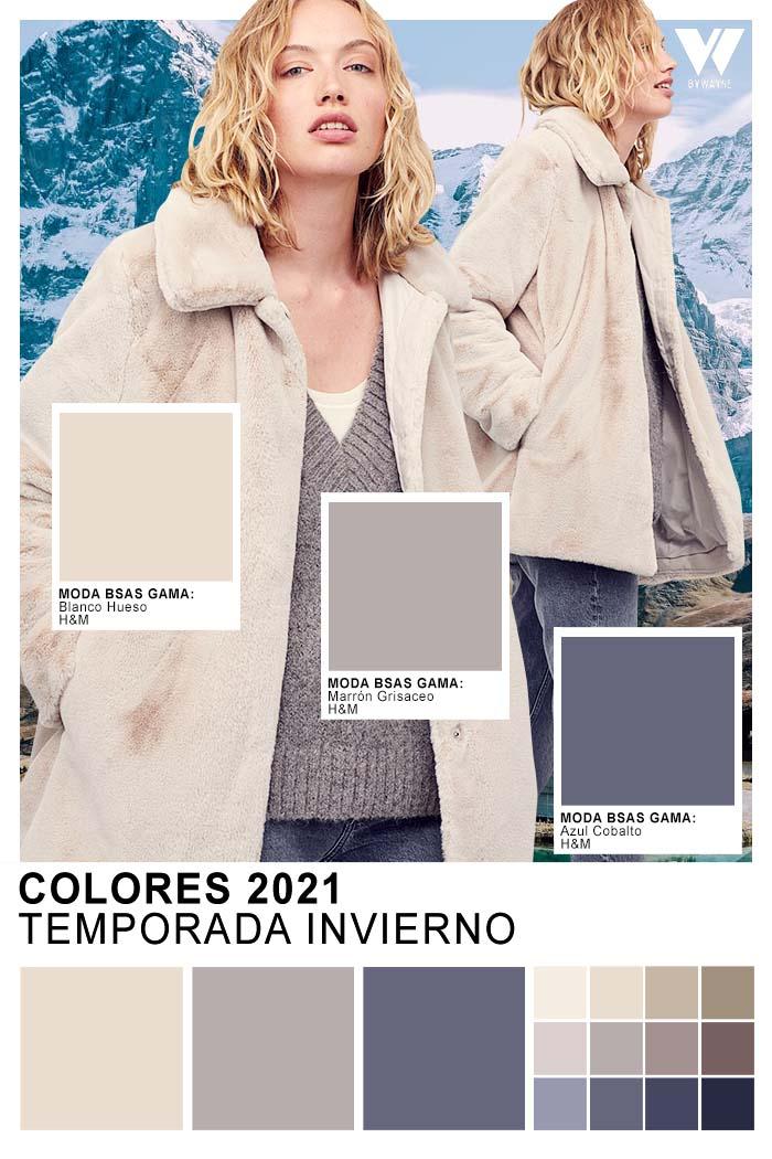 Tendencias colores otoño invierno 2021