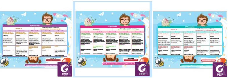 📖 Semana 26 - MDA planeaciones para preescolar aprende en casa - aprendizajes esperados ✔️