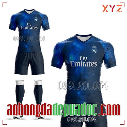 Áo Real Madrid 2019 Training 2 Màu Tím Than Đẹp Và Độc