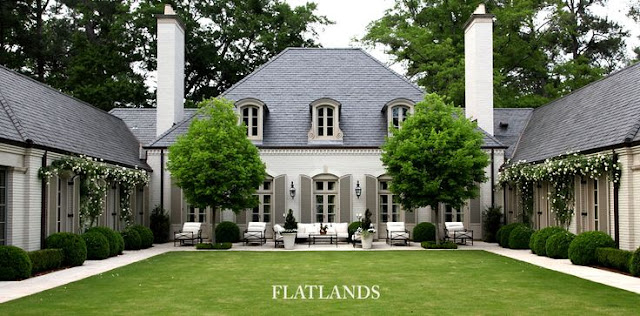 Peonies and Orange Blossoms: French Style Houses Part 2