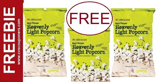 FREE Popcorn Deals at CVS