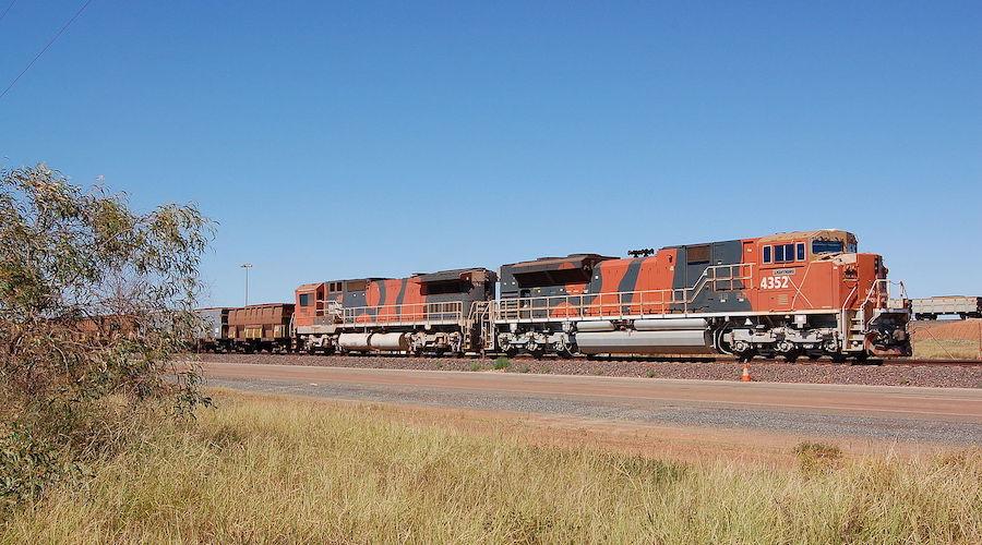 BHP बिलिटन लौह अयस्क ट्रेन, ऑस्ट्रेलिया