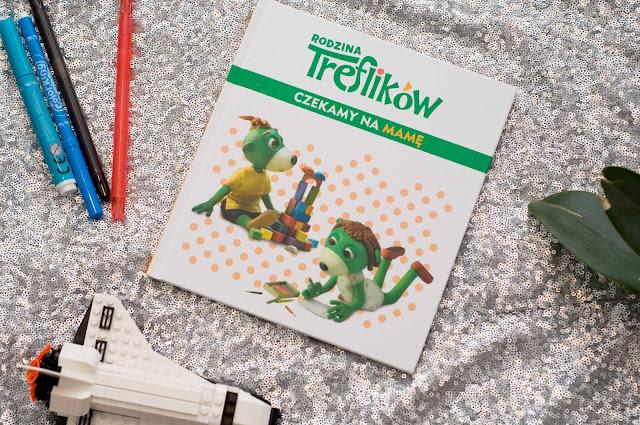 książka dla dzieci, Czekamy na mamę Rodzina Treflików