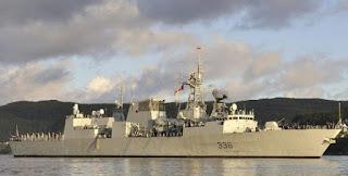 Η καναδική φ/γ HMCS Montréal στην Ευρώπη, για ασκήσεις & δοκιμές