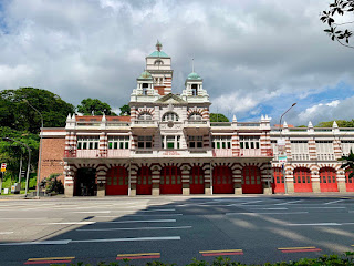 Central Fire Station on Hill Street