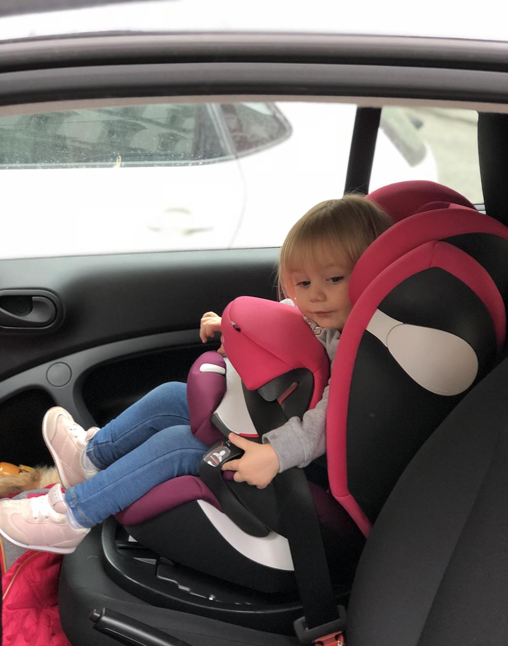 regole bambini in auto