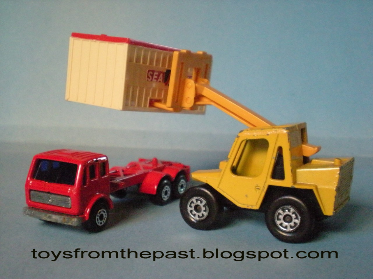 Toys From The Past 52 Matchbox Cable Truck Nr 26